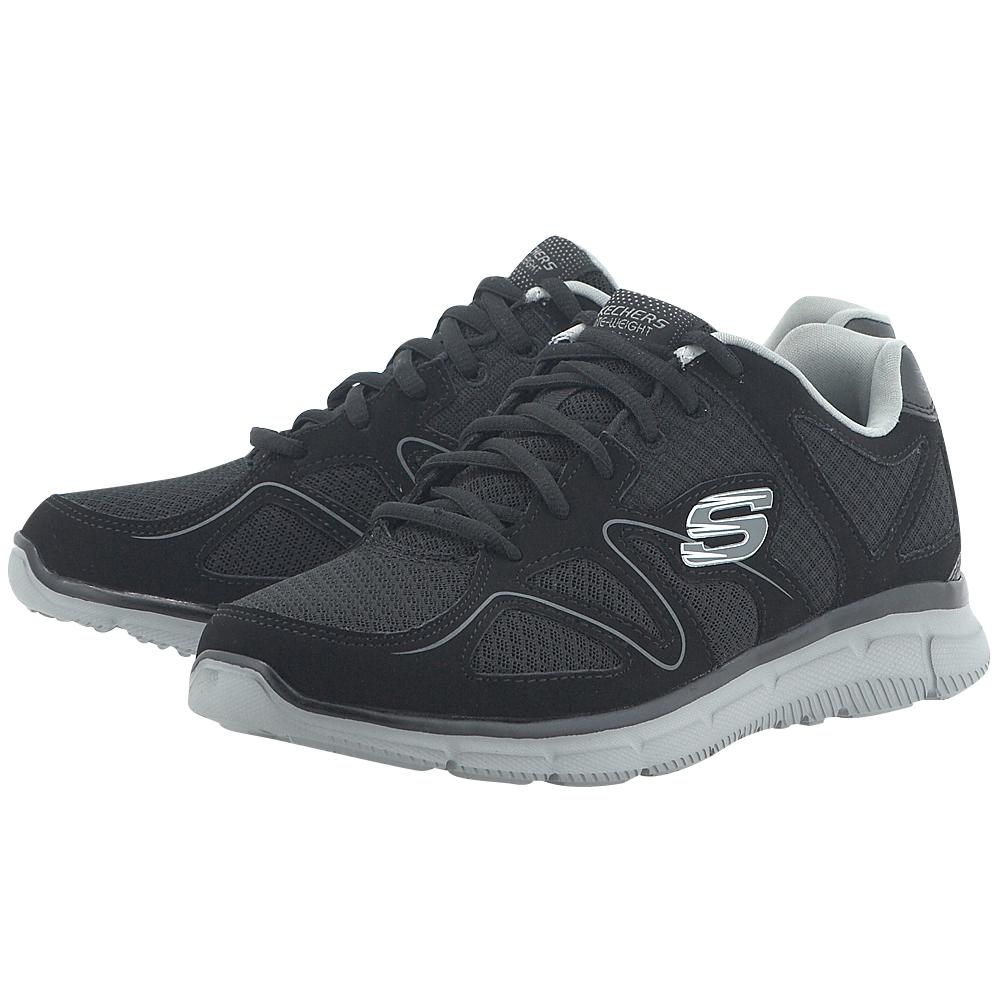 Skechers – Skechers 58350BKGY – ΜΑΥΡΟ/ΓΚΡΙ