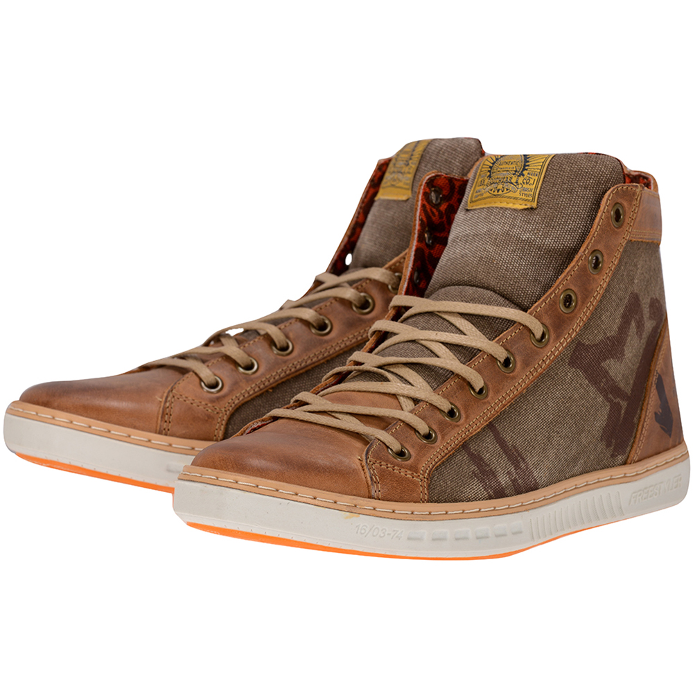 Bullboxer - Bullboxer 594K52830 - ΛΑΔΙ/ΚΑΦΕ outlet   ανδρικα   sneakers   mid cut