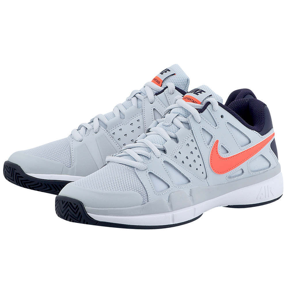 Nike - Nike Nike Air Vapor Advantage Tennis Shoe 599359002-4 - ΓΚΡΙ ΑΝΟΙΧΤΟ