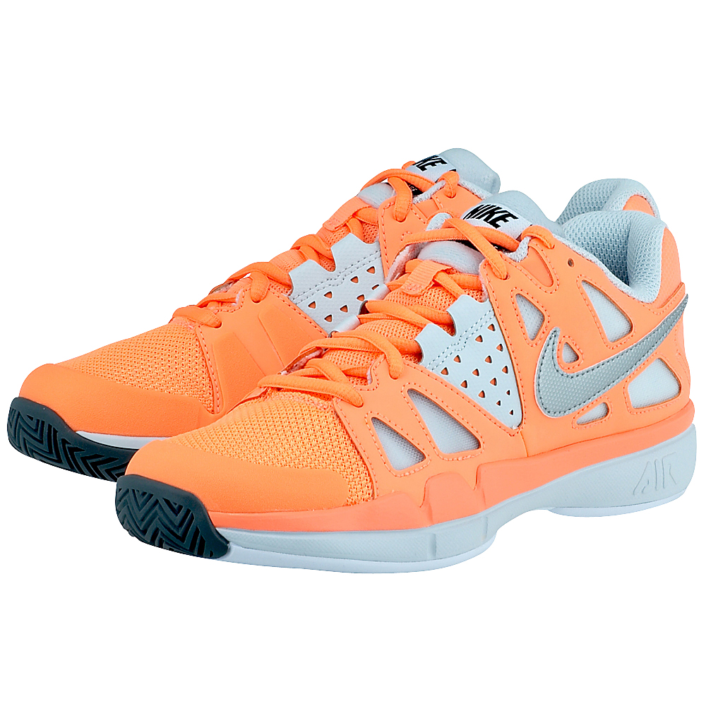 Nike - Nike Wmns Air Vapor Advantage 599364800-3 - ΠΟΡΤΟΚΑΛΙ/ΓΚΡΙ