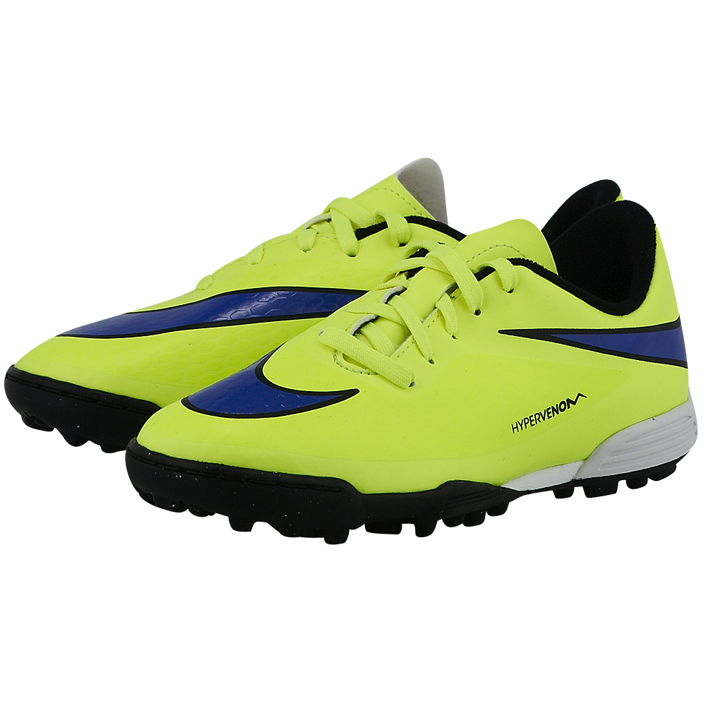 Nike – Nike Jr Hypervenom Phade TF 599813758-2. – ΚΙΤΡΙΝΟ