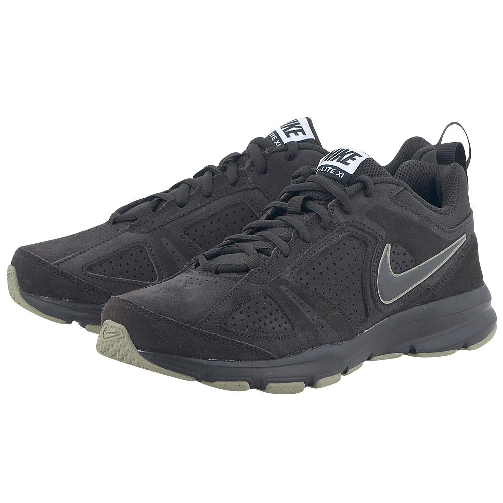 Nike – Nike T-Lite 616546203-4 – ΚΑΦΕ ΣΚΟΥΡΟ