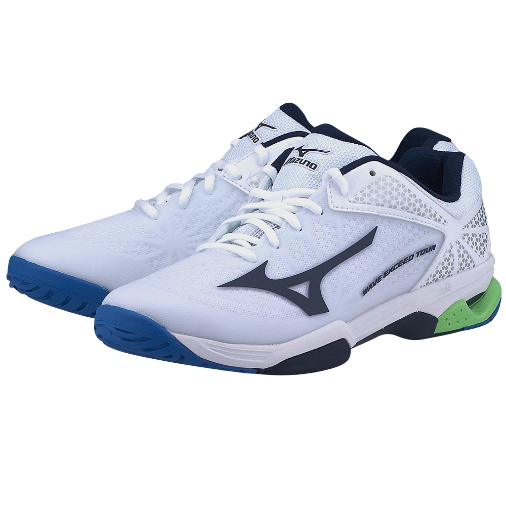 Mizuno - Mizuno Wave Exceed Tour 2 61GA167014 - ΛΕΥΚΟ