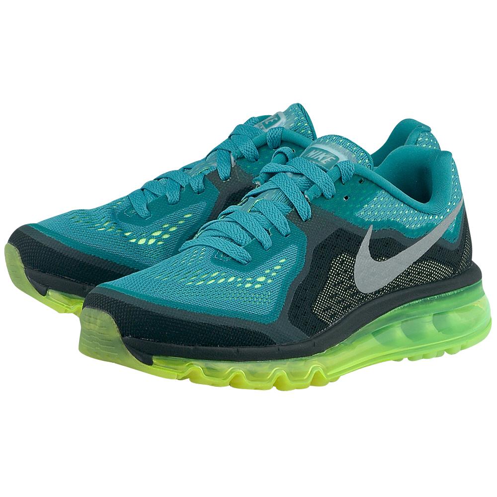 Nike - Nike Air Max 2014 621078302-3 - ΠΡΑΣΙΝΟ/ΜΑΥΡΟ