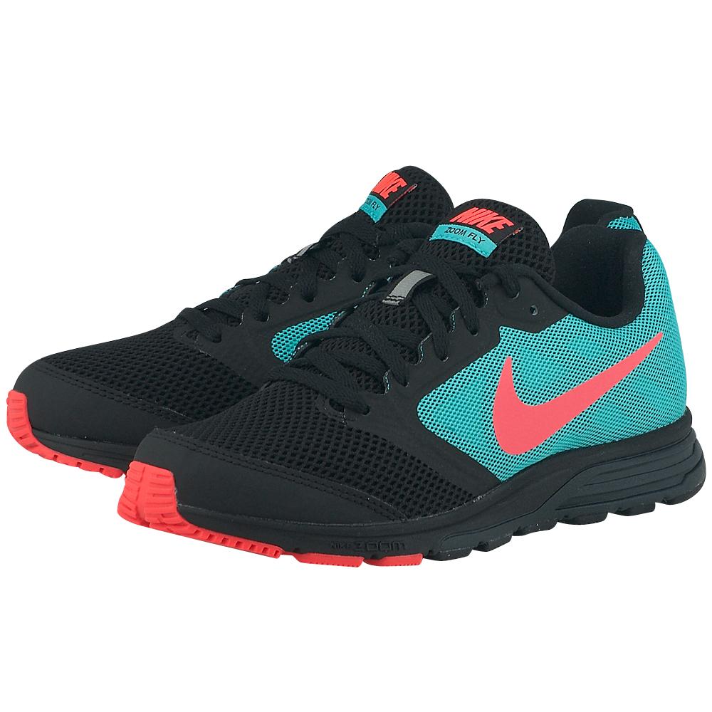 Nike – Nike Wmns Zoom Fly 630995004-3 – ΜΑΥΡΟ/ΠΡΑΣΙΝΟ