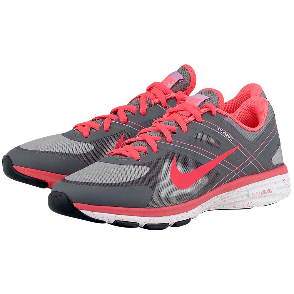 Nike - Nike Dual Fusion TR 2 631459200-3. - ΓΚΡΙ/ΦΟΥΞΙΑ