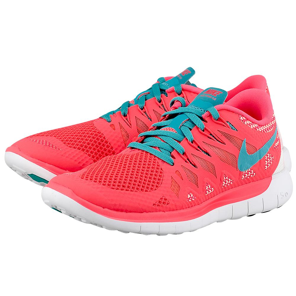 Nike - Nike Wmns Free 5.0 642199600-3 - ΚΟΡΑΛΙ