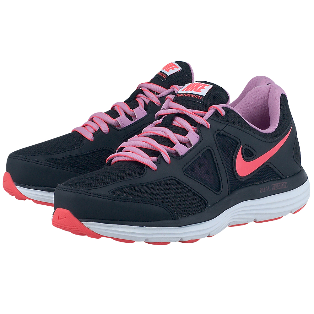 Nike - Nike Dual Fusion Lite 2 642826014-3 - ΜΑΥΡΟ