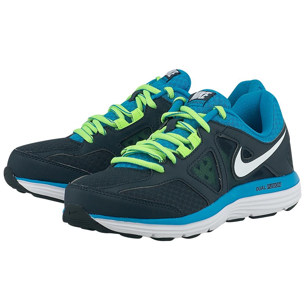 Nike - Nike Dual Fusion Lite 2 Msl 642826017-3 - ΜΠΛΕ ΣΚΟΥΡΟ