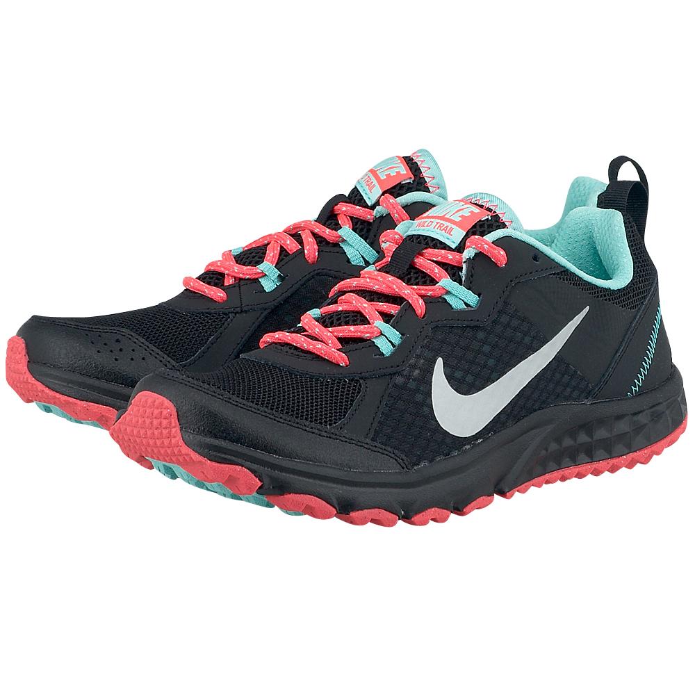 Nike  Flex Run 2014 6430740093 ΜΑΥΡΟ Γυναικεία αθλητικά παπούτσια running από την Nike, σε μαύρη απόχρωση, από mesh και συνθετικό δέρμα για καλύτερη αναπνοή και στήριξη και εσωτερική