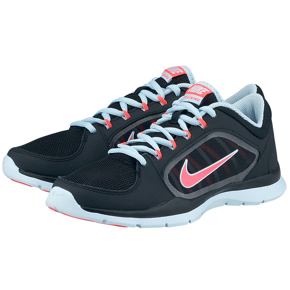 Nike - Nike Flex Trainer 4 643083012-3 - ΜΑΥΡΟ/ΣΙΕΛ