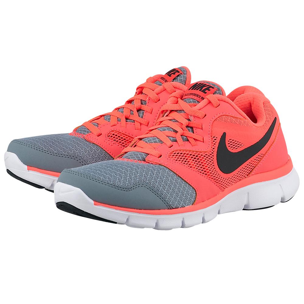 Nike - Nike Flex Experience 3 PR 652858017-3 - ΓΚΡΙ/ΚΟΡΑΛΙ outlet   γυναικεια   αθλητικά   running