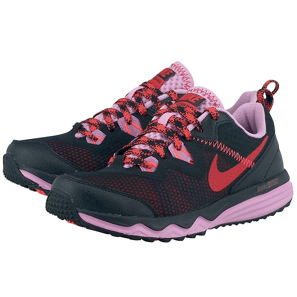 Nike - Nike Fusion Trail 652869005-3. - ΜΑΥΡΟ/ΡΟΖ γυναικεια   αθλητικά   outdoor