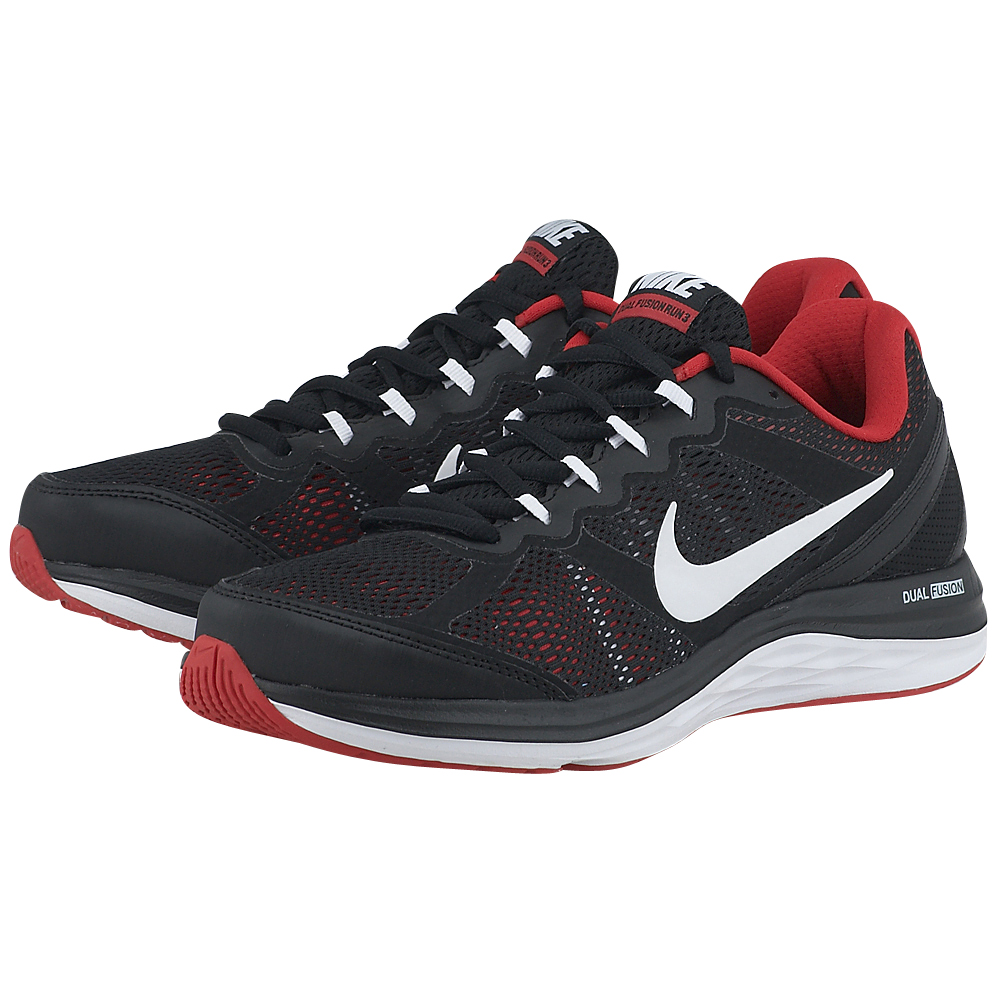 Nike - Nike Dual Fusion Run 3 Msl 653619026-4 - ΜΑΥΡΟ