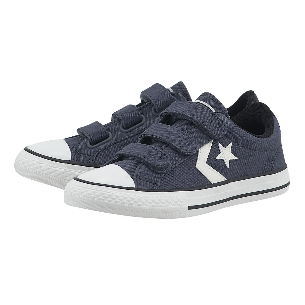 Converse – Converse Star Player 2V 656149C-2 – ΜΠΛΕ ΣΚΟΥΡΟ
