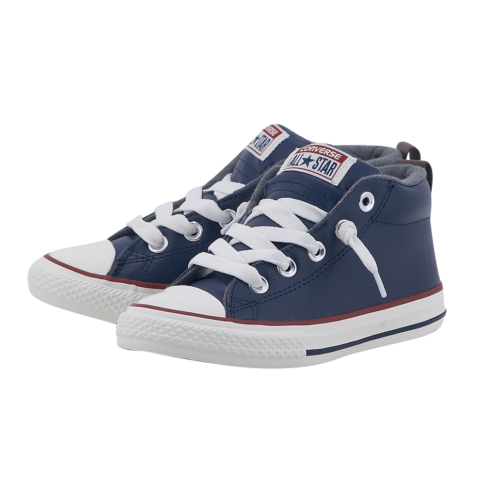 Converse - Converse Chuck Taylor All Star Street M 658103C - ΜΠΛΕ ΣΚΟΥΡΟ