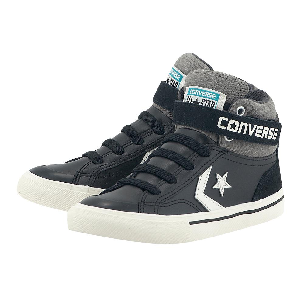 Converse – Converse Pro Blaze Strap Stretch Hi 658167C – ΜΑΥΡΟ