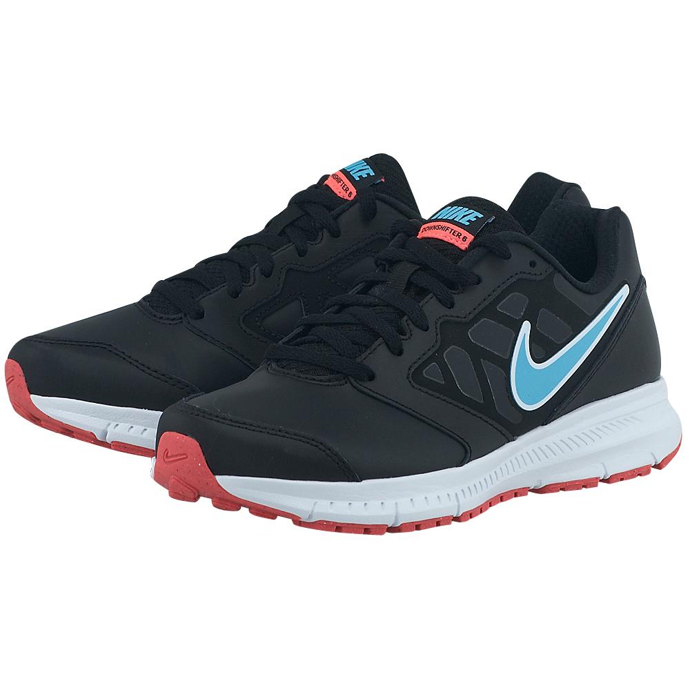Nike Nike Downshifter 6 Leather 684768006 3 ΜΑΥΡΟ
