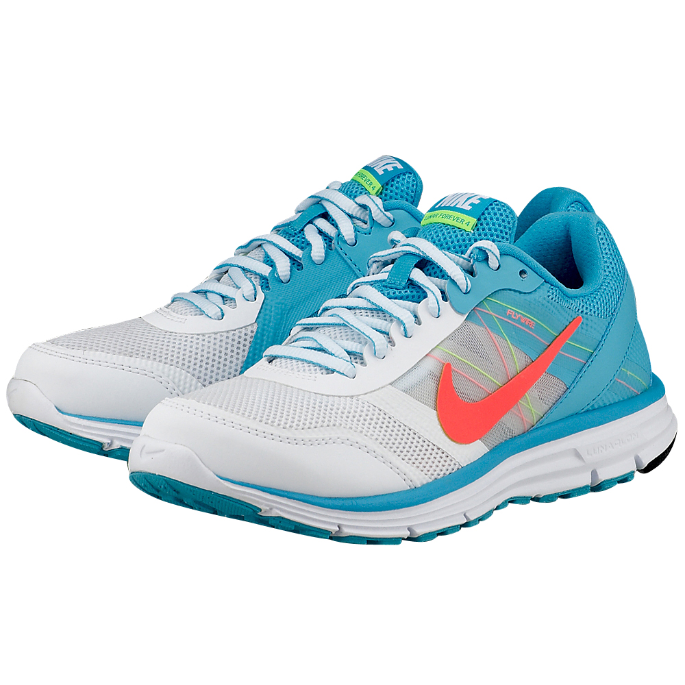Nike – Nike Lunar Forever 4 704933100-3 – ΣΙΕΛ/ΛΕΥΚΟ