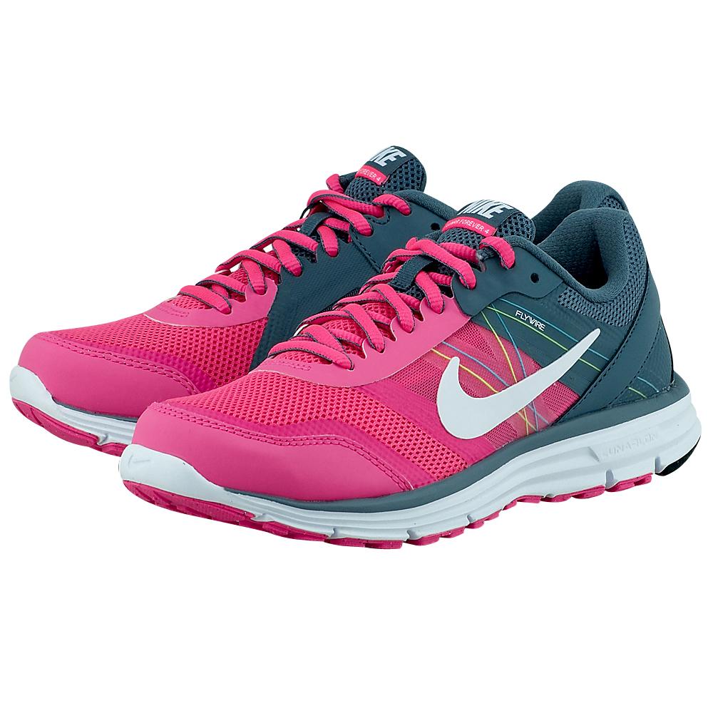 Nike - Nike Lunar Forever 4 704933600-3 - ΓΚΡΙ/ΡΟΖ