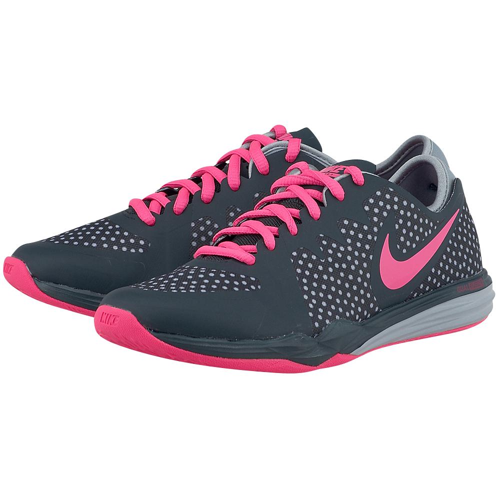 Nike - Nike Wmns Dual Fusion Tr 3 704941002-3 - ΓΚΡΙ ΣΚΟΥΡΟ