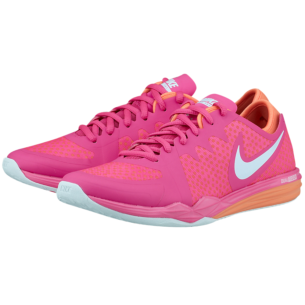 Nike - Nike Wmns Dual Fusion Tr 3 704941601-3 - ΦΟΥΞΙΑ outlet   γυναικεια   αθλητικά   training