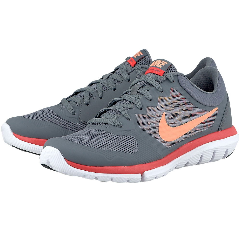 Nike Nike Flex Run 2015 709021013 3 ΓΚΡΙ