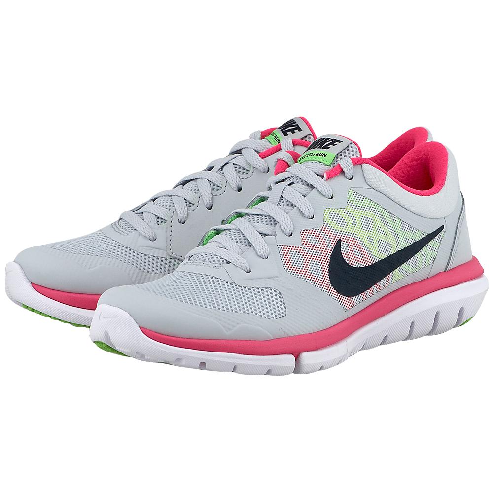 Nike – Nike Flex Run 2015 709021016-3 – ΓΚΡΙ ΑΝΟΙΧΤΟ