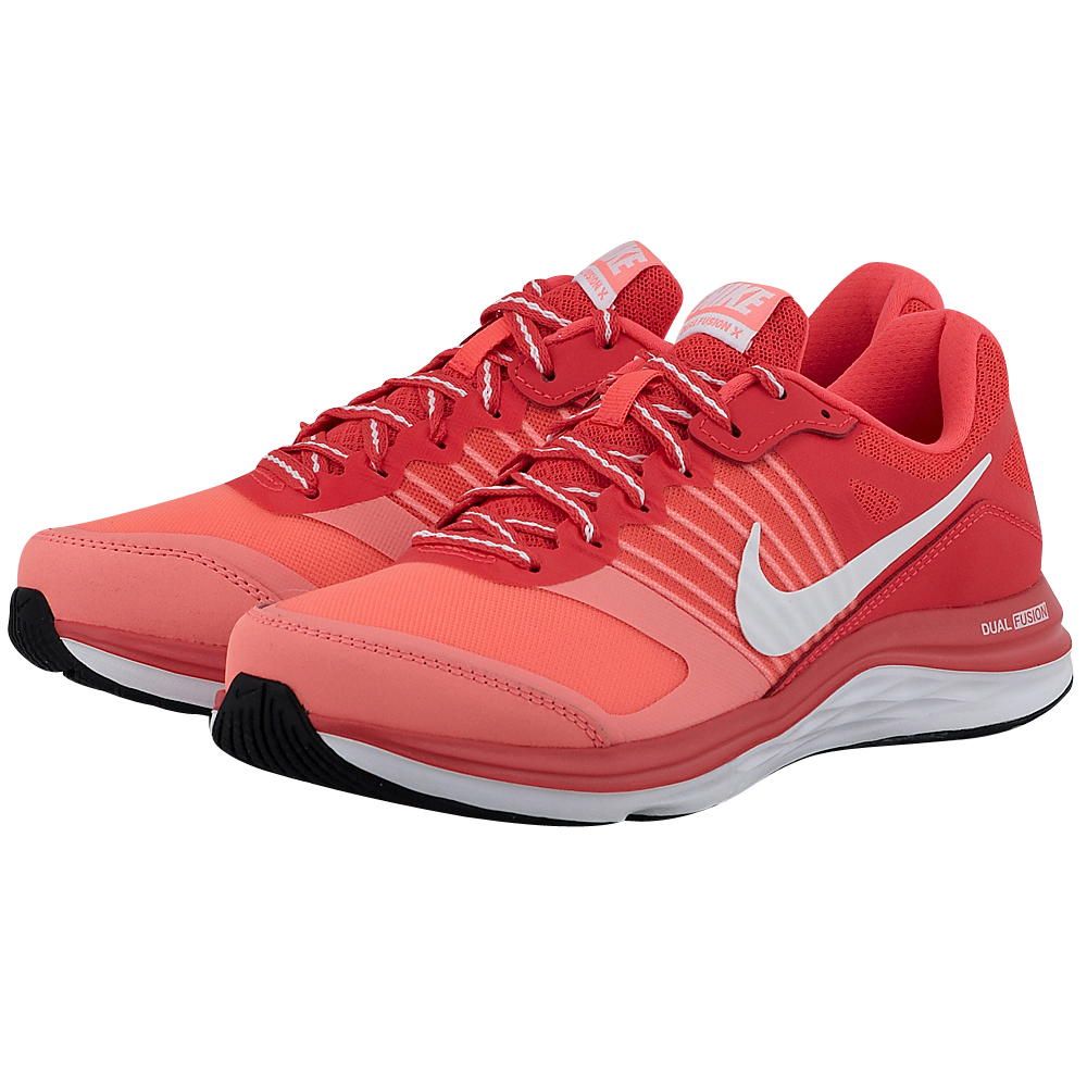 Nike - Nike Dual Fusion X 709501600-3 - ΚΟΡΑΛΙ outlet   γυναικεια   αθλητικά   running