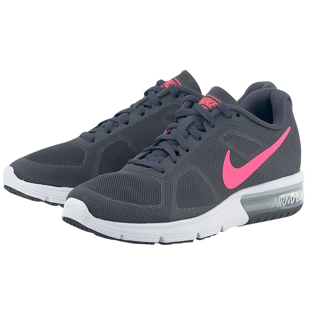 Nike – Nike Air Max Sequent 719916016-3 – ΓΚΡΙ ΣΚΟΥΡΟ