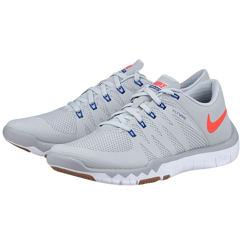 Nike - Nike Free Trainer 5.0 719922060-4 - ΓΚΡΙ ΑΝΟΙΧΤΟ