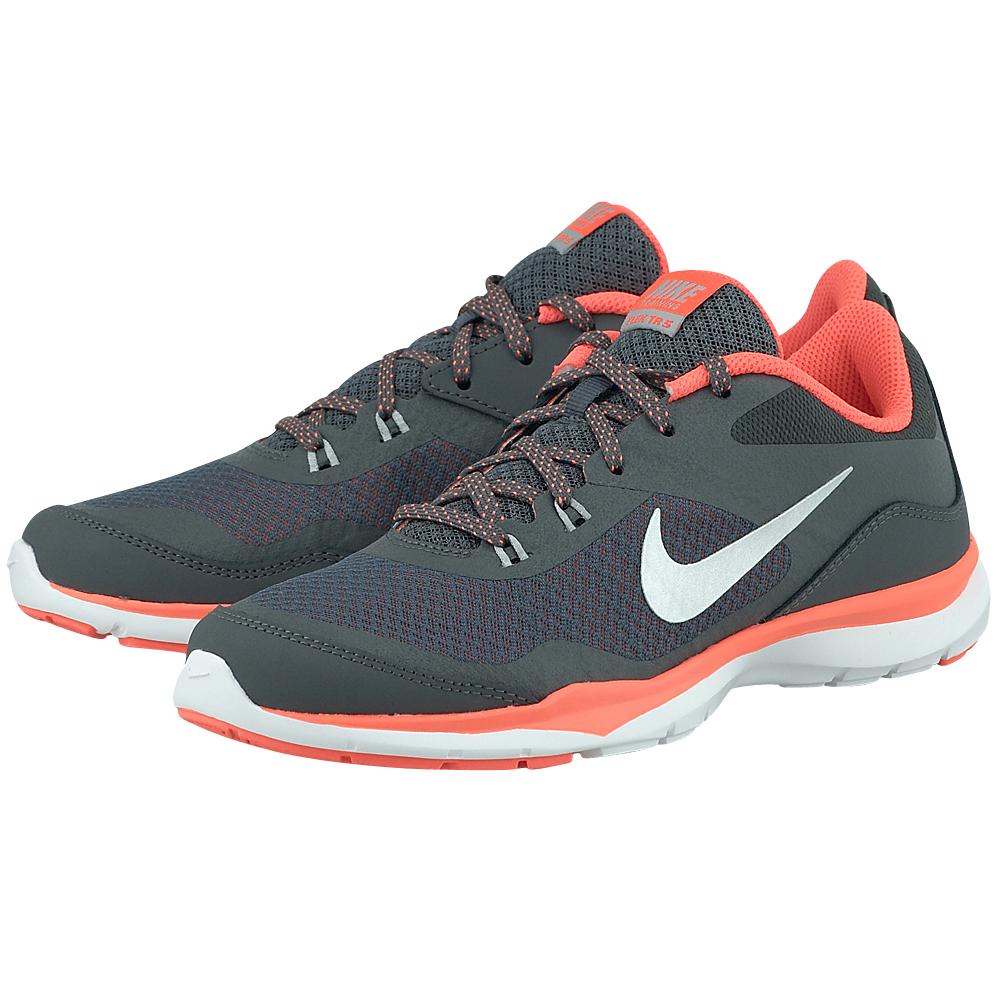 Nike – Nike Flex Trainer 5 724858012-3 – ΓΚΡΙ ΣΚΟΥΡΟ