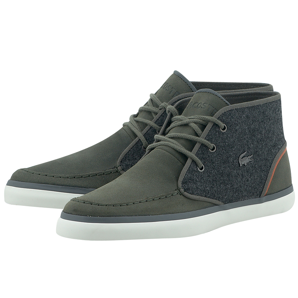 Lacoste – Lacoste Sevrin Mid Lace 732CAM00051X5 – ΧΑΚΙ