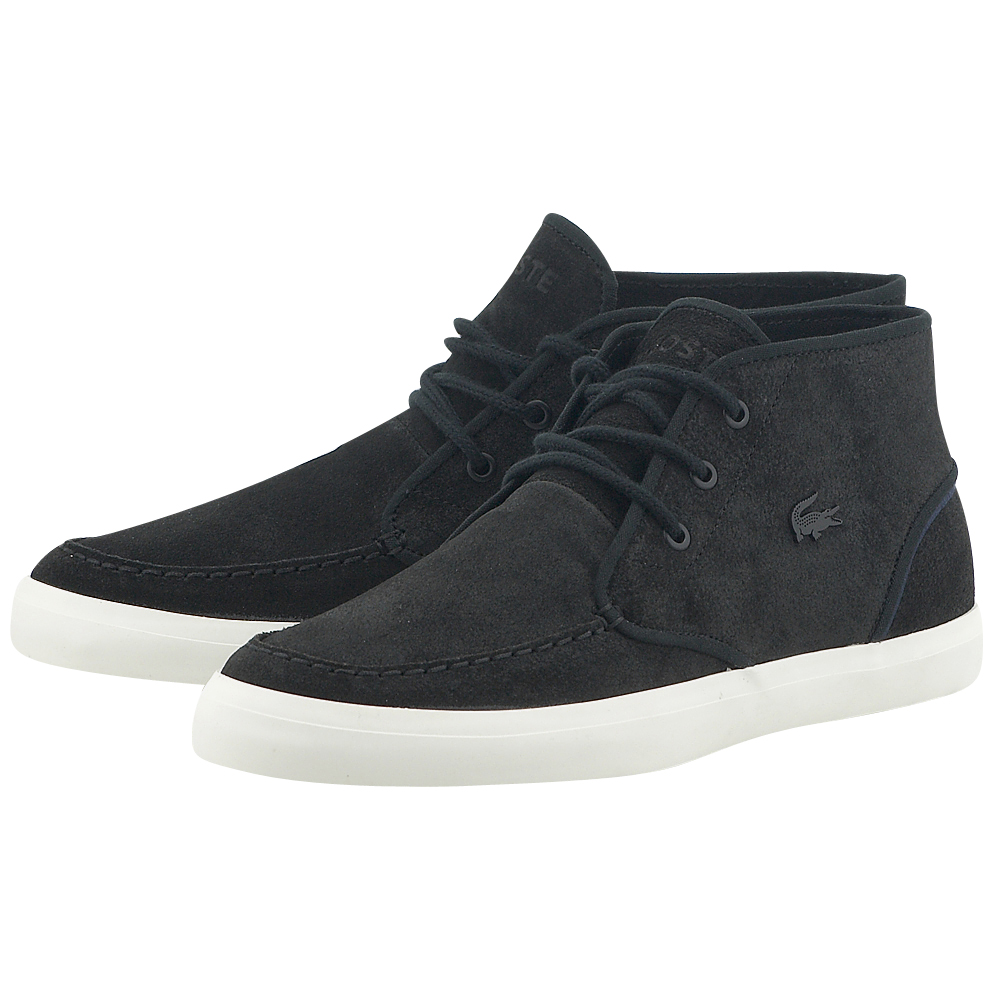 Lacoste – Lacoste Sevrin Mid 732CAM0087024 – ΜΑΥΡΟ