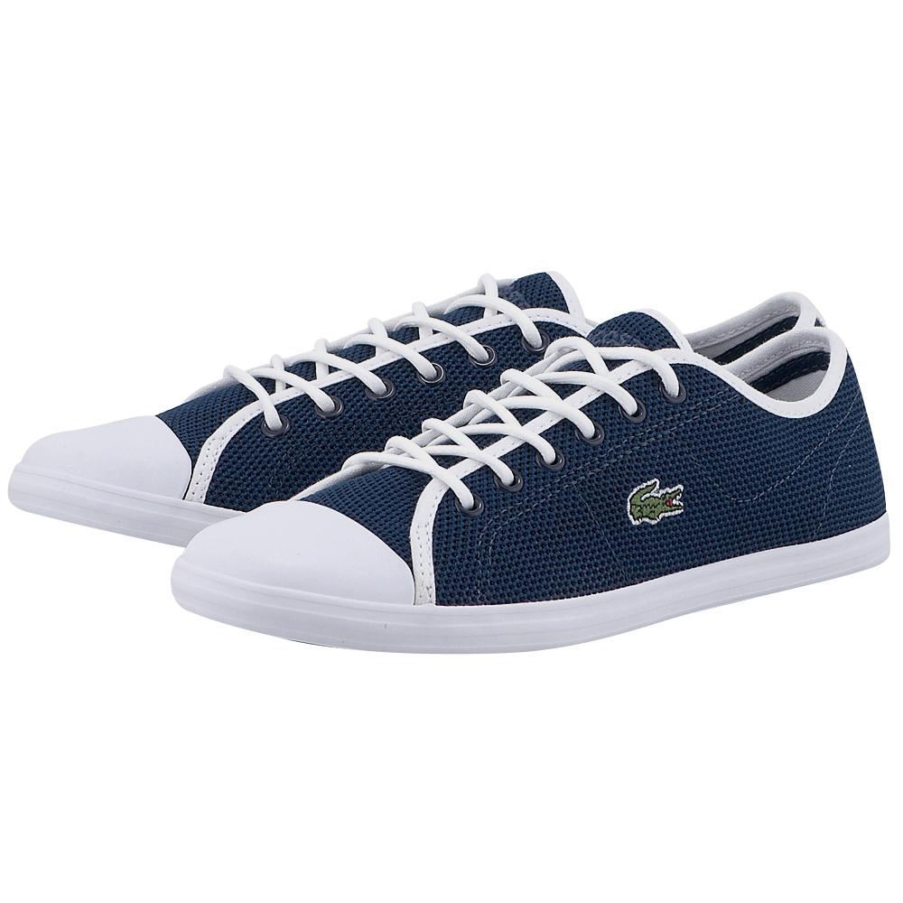 Lacoste - Lacoste Ziane Sneaker 117 733CAW1045003. - ΜΠΛΕ/ΛΕΥΚΟ