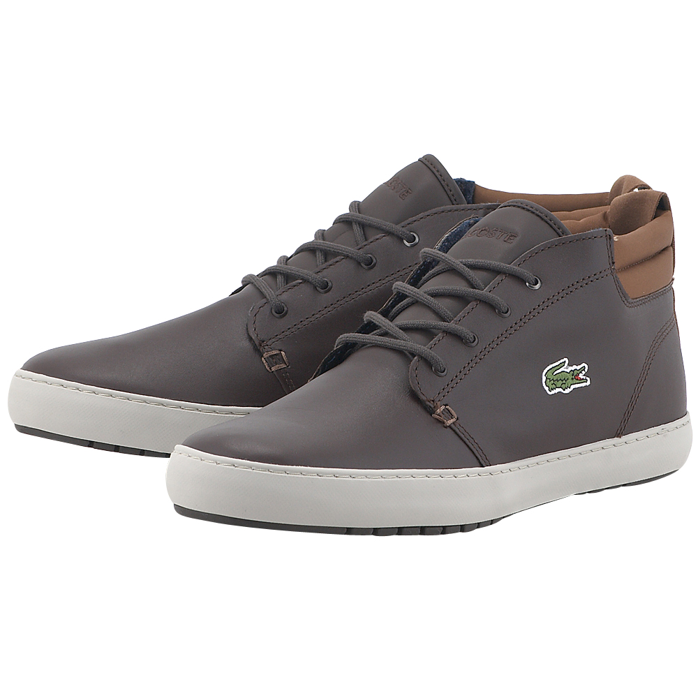 Lacoste - Lacoste Ampthill Terra 317 734CAM0002176 - ΚΑΦΕ ΣΚΟΥΡΟ