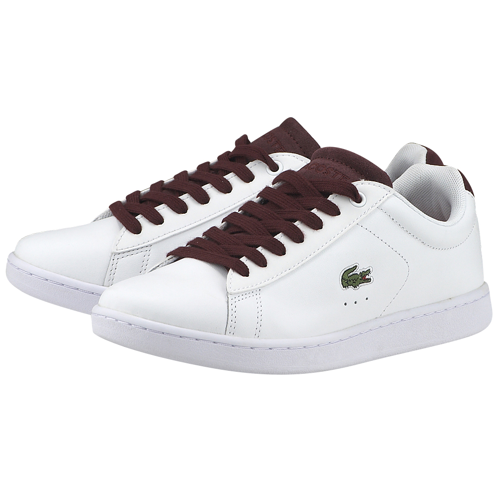 Lacoste – Lacoste Carnaby Evo 317 734SPW0006286 – ΛΕΥΚΟ
