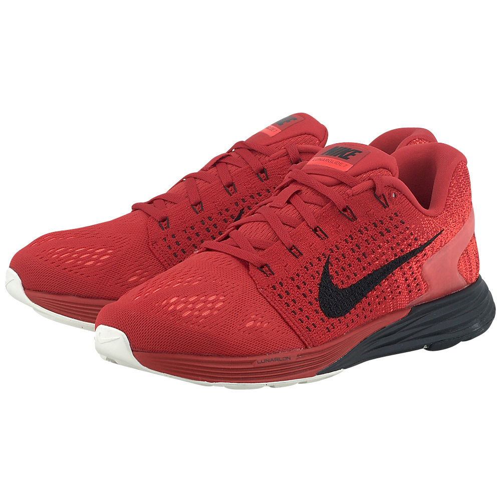 Nike - Nike Lunarglide 7 747355601-4 - ΚΟΚΚΙΝΟ