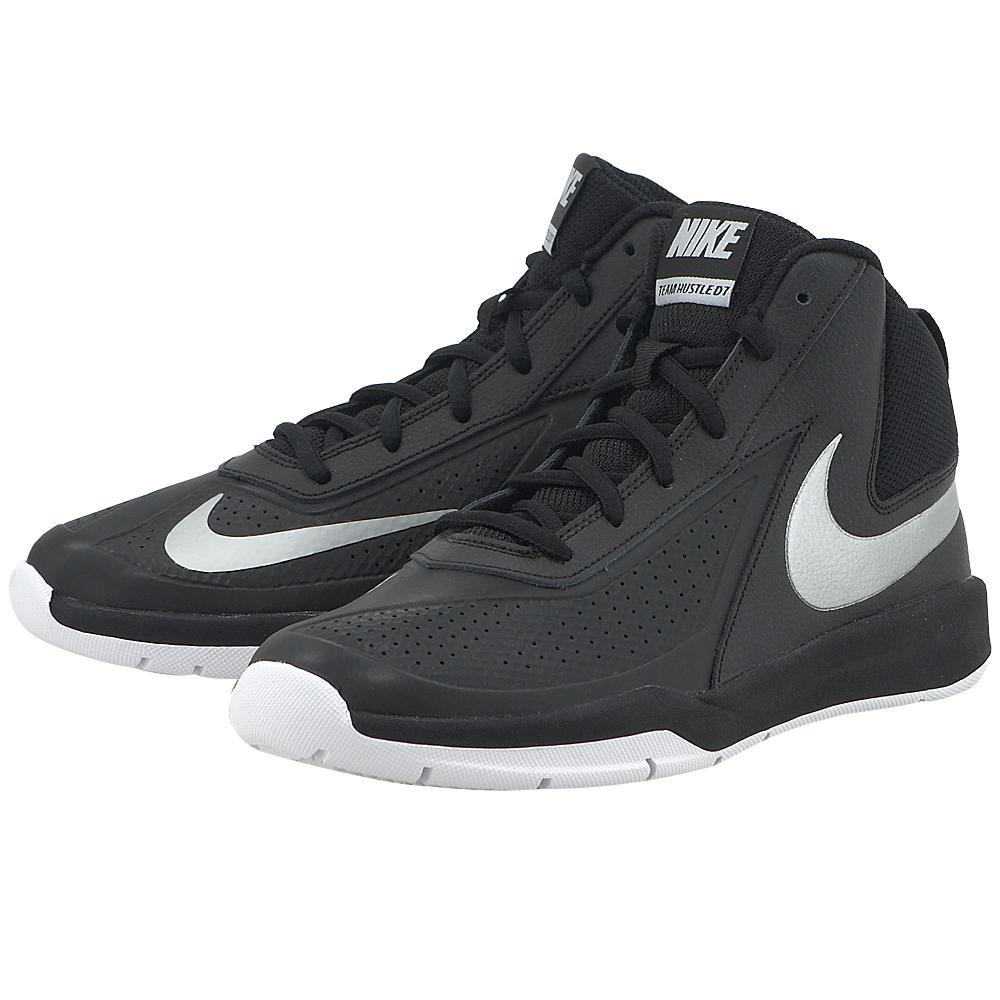 Nike – Nike Team Hustle D 7 (GS) Basketball 747998001-3 – ΜΑΥΡΟ