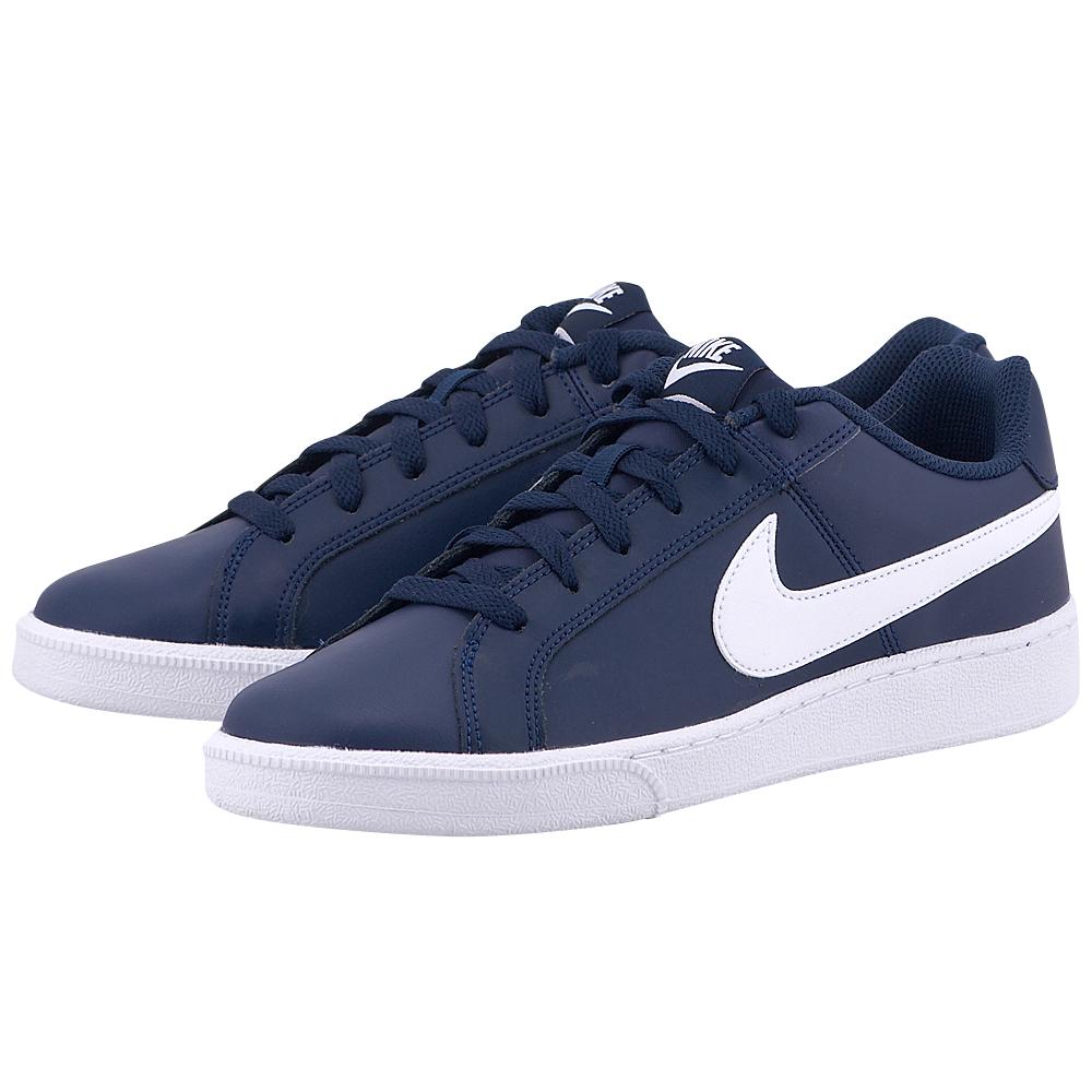 Nike – Nike Court Royale 749747-411 – ΜΠΛΕ ΣΚΟΥΡΟ