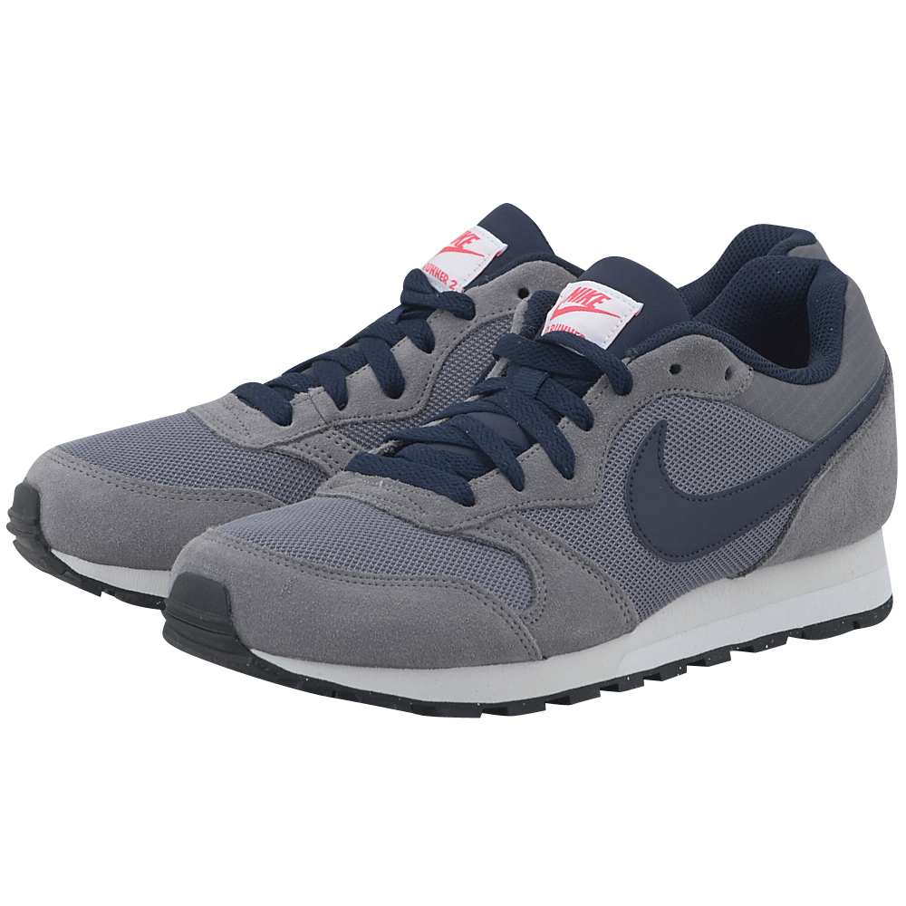 Nike – Nike MD Runner 749794-007 – ΓΚΡΙ ΣΚΟΥΡΟ