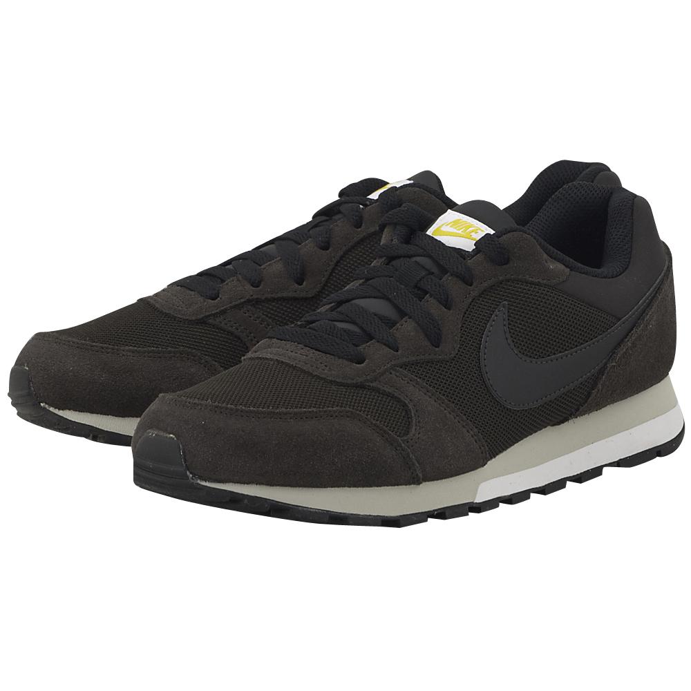 Nike - Nike MD Runner 2 749794-202 - ΚΑΦΕ ΣΚΟΥΡΟ