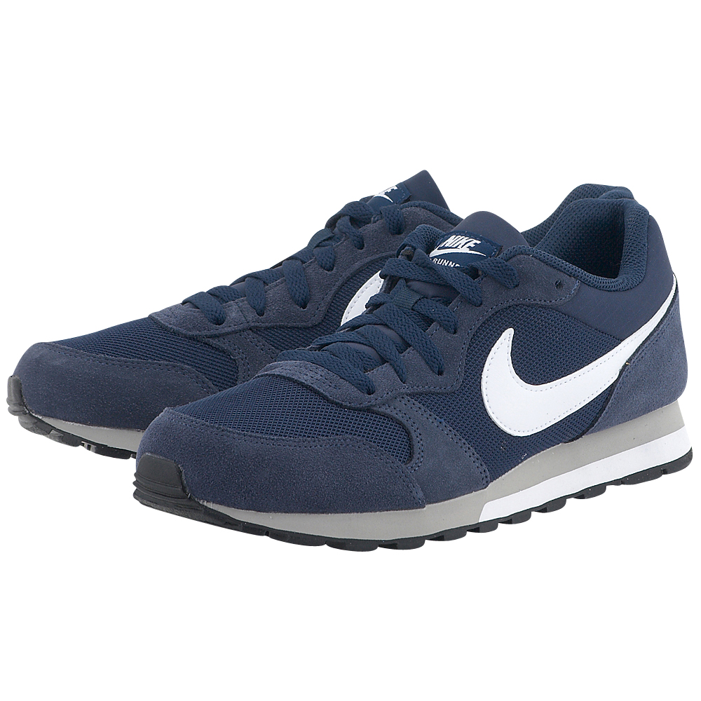 Nike – Nike MD Runner 2 749794410-4 – ΜΠΛΕ ΣΚΟΥΡΟ
