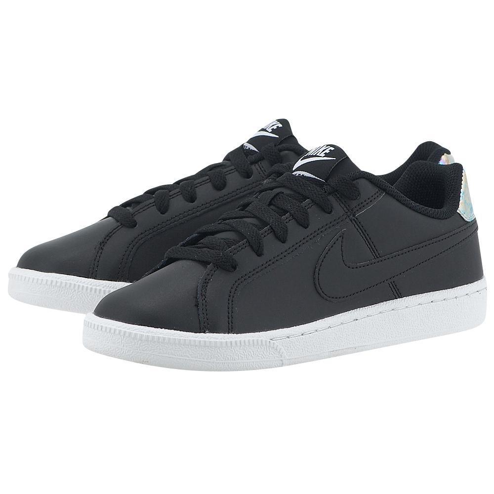 Nike - Nike Women's Court Royale Shoe 749867-003 - ΜΑΥΡΟ