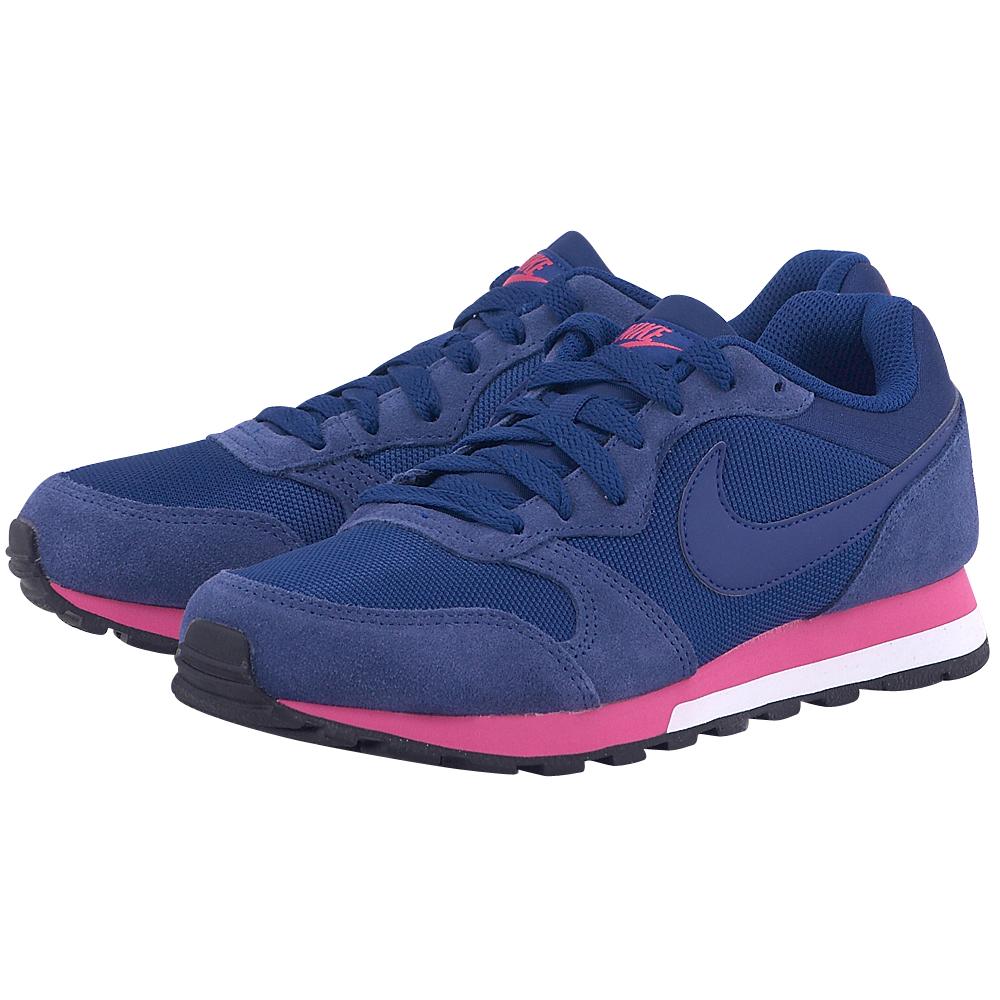 Nike – Nike MD Runner 2 749869446-3 – ΜΠΛΕ ΣΚΟΥΡΟ