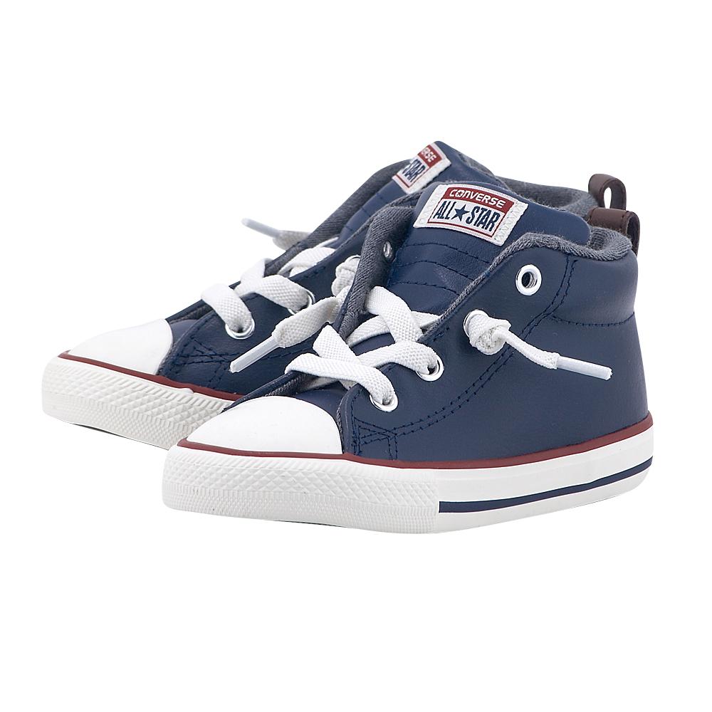 Converse – Converse Chuck Taylor All Star Street M 758186C – ΜΠΛΕ ΣΚΟΥΡΟ