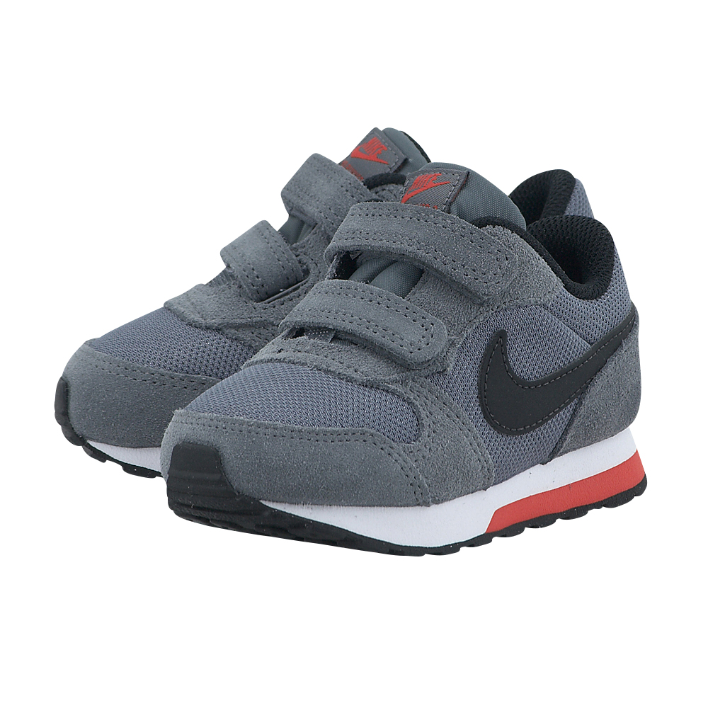 Nike - Nike MD Runner 2 (TDV) 806255006-1 - ΓΚΡΙ ΣΚΟΥΡΟ