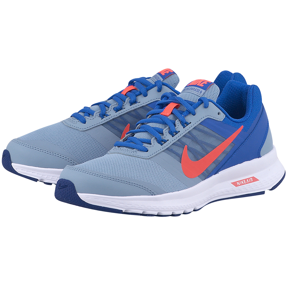 Nike – Nike Air Relentless 5 807092401-4 – ΓΚΡΙ/ΜΠΛΕ