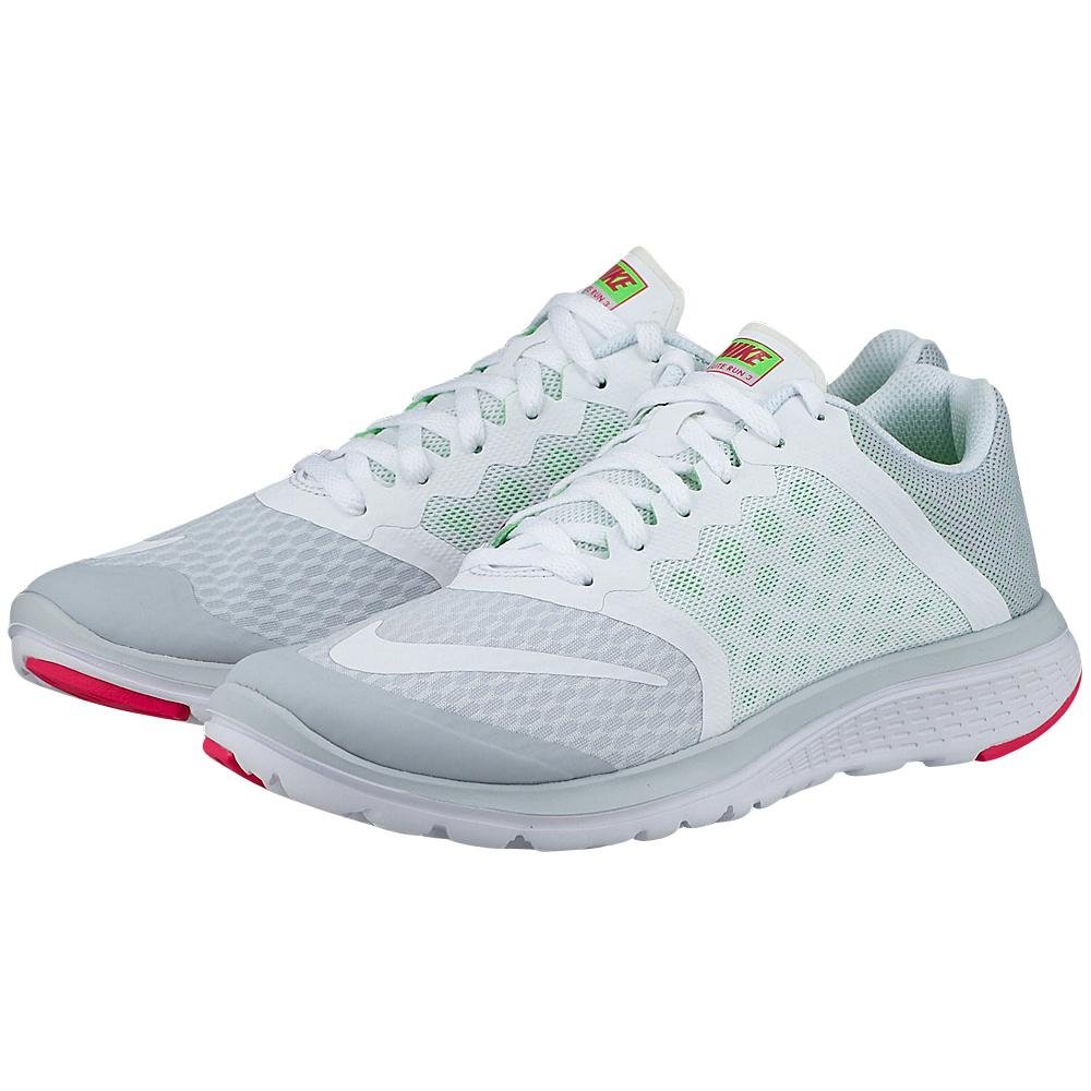 Nike – Nike FS Lite Run 3 807145007-3 – ΓΚΡΙ/ΛΕΥΚΟ
