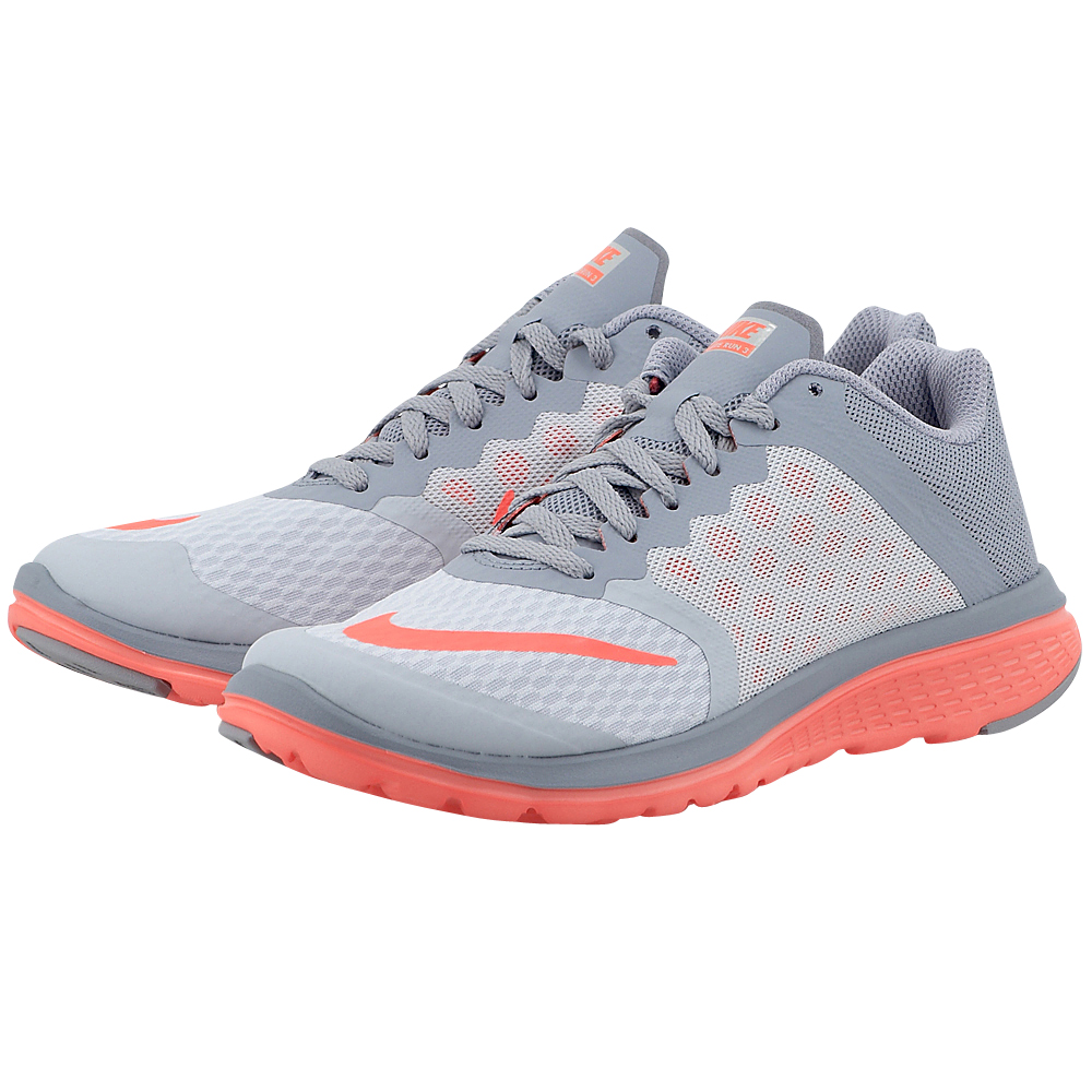 Nike - Nike FS Lite Run 3 807145018-3 - ΓΚΡΙ γυναικεια   αθλητικά   running